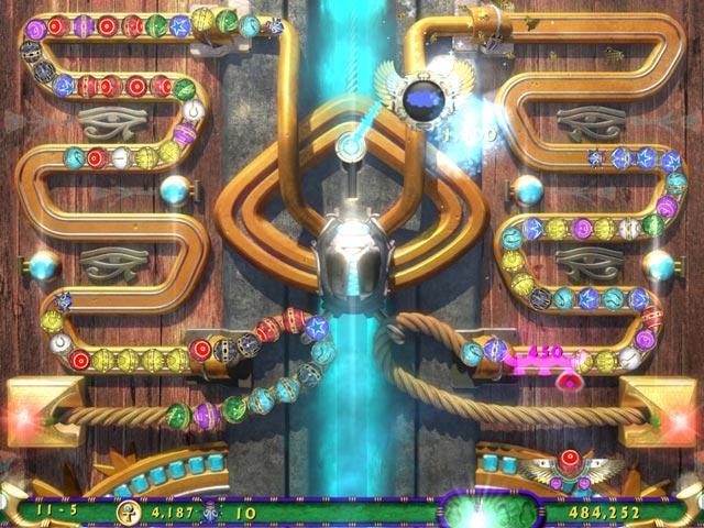 LUXOR 3 - éterická cesta kuliček