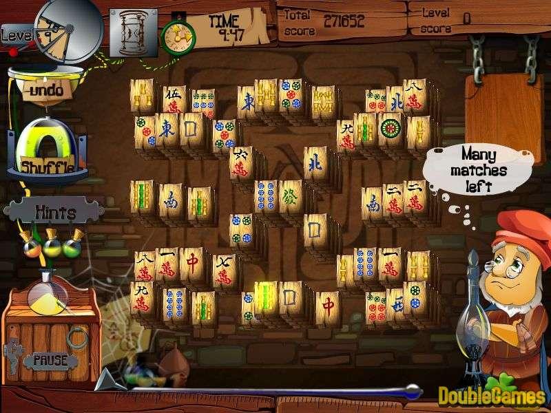 Alchemy Mahjong - logická hra z Egypta