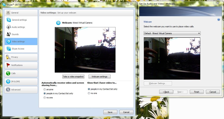 VirtualCamera - tvorba virtuální webové kamery