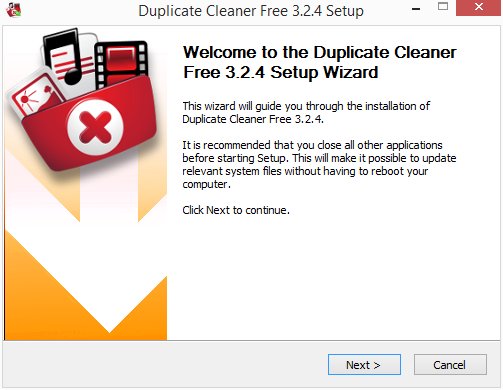 Instalace Duplicate Cleaner