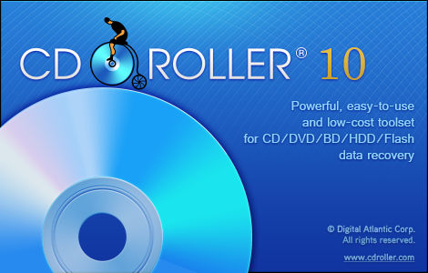 CDRoller 10: obnova CD, DVD, HDD i flash