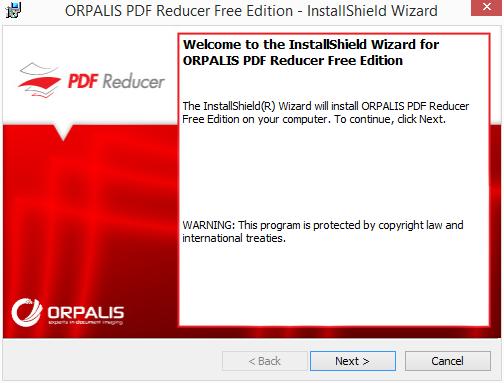 Instalace PDF Reducer