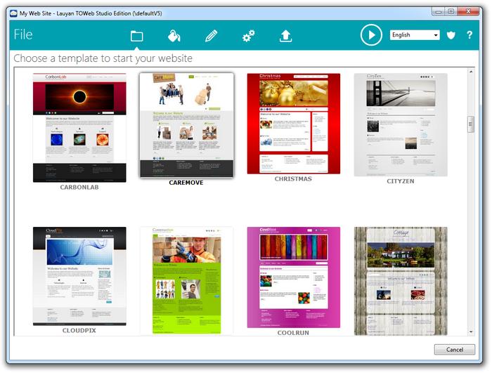 TOWeb - vytváříme web a blog