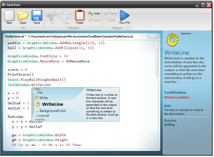 Microsoft Small Basic - začátky s programováním