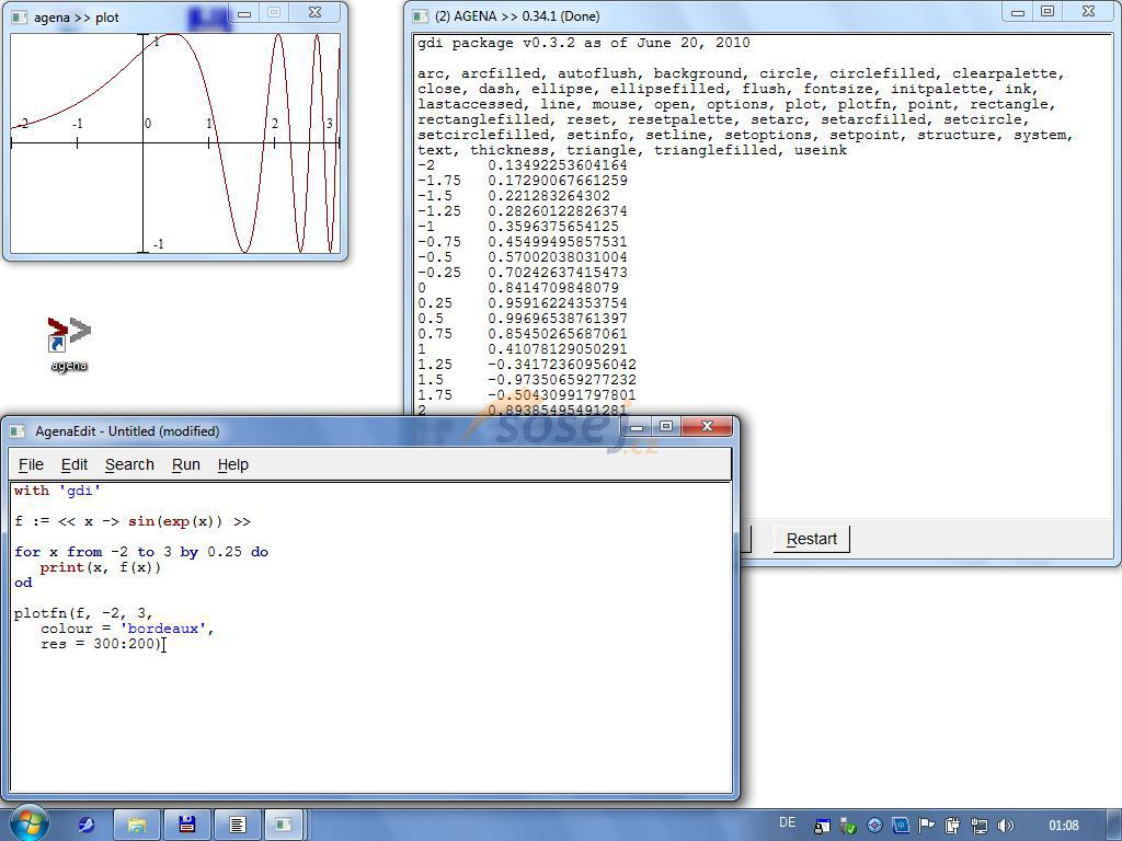 Agena - procedurální programovací jazyk