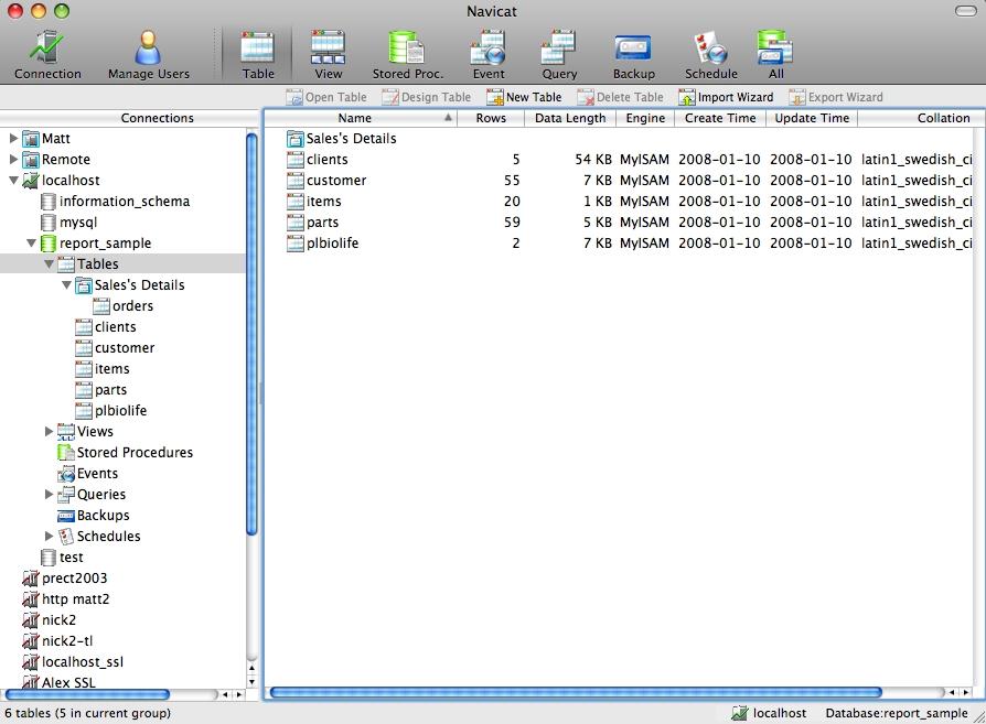 Navicat for MySQL - nejlepší MySQL manažer
