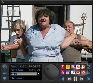 NetTVPlayer - přehrávač internetových televizí a rádií