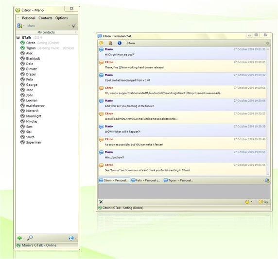 Citron messenger - všechny aplikace v jednom messengeru
