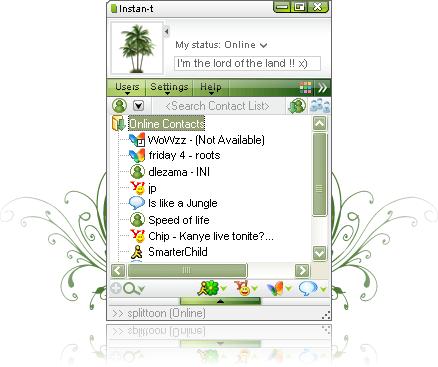 Instan-t - kompaktní chatování