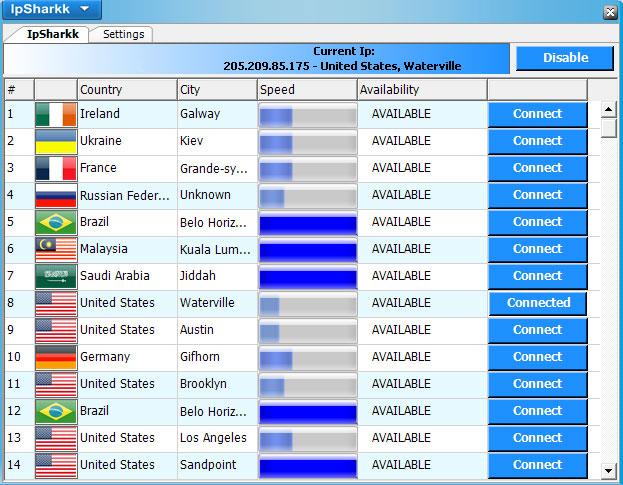 IP Changer Premium - anonymní přístup na internet