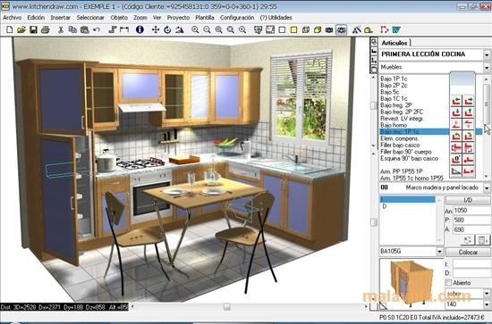 KitchenDraw - špičková aplikace pro projektování kuchyní