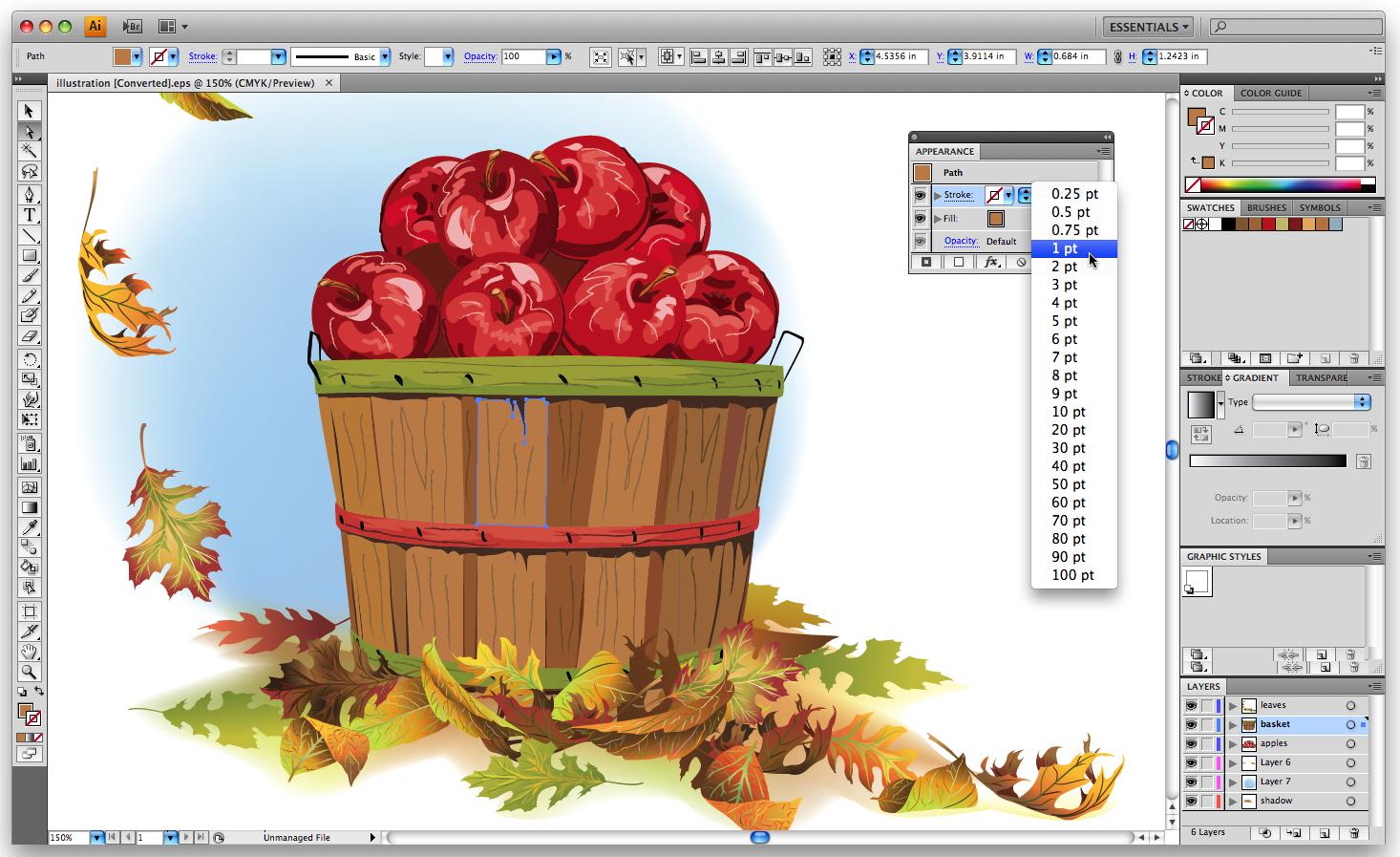 Adobe Illustrator - tvorba ilustrací nebo grafiky