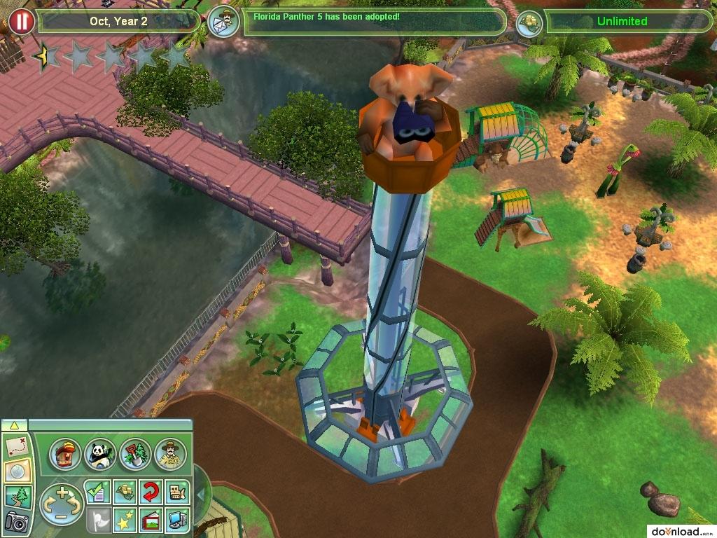 Zoo Tycoon 2 - budujeme tu nejlepší a nejkrásnější ZOO na světě!
