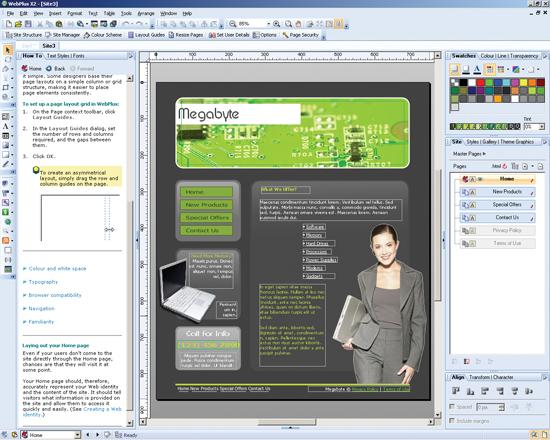 WebPlus - snadná a rychlá tvorba www stránek