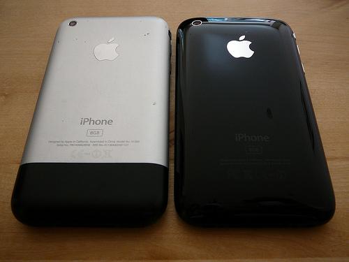 iPhone a iPhone 3G