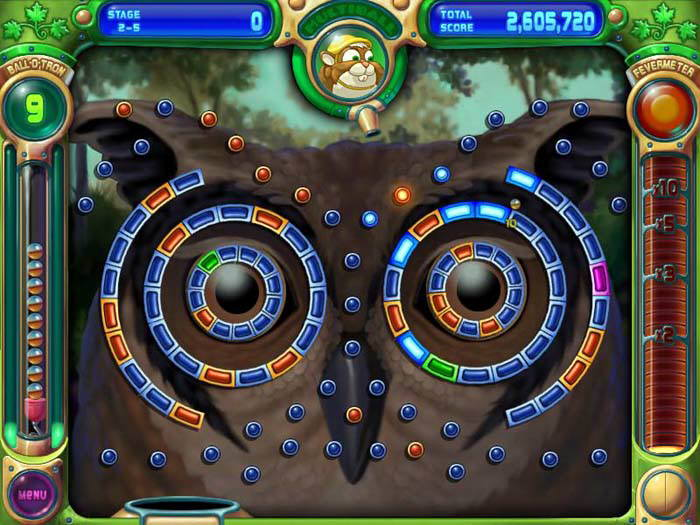 Peggle Deluxe - dokonale graficky zpracovaná logická hra