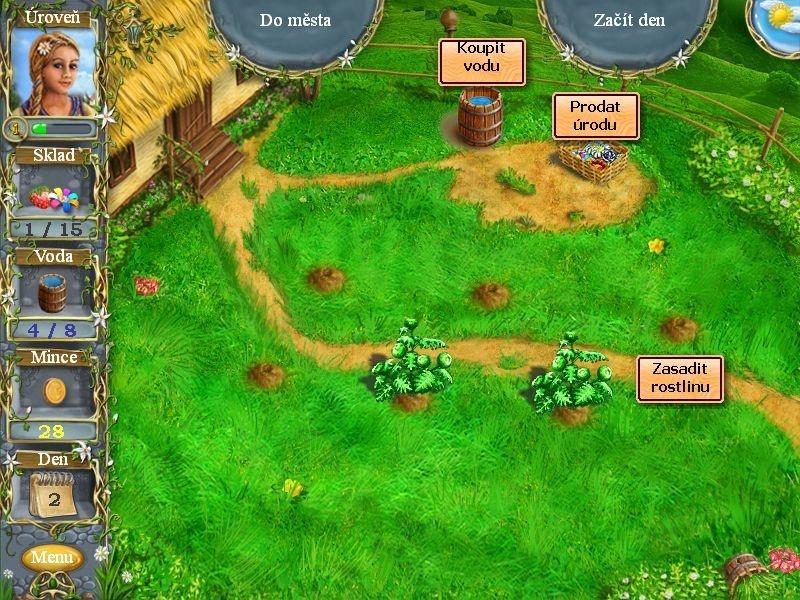Kouzelná farma - zkoušíme zahradní umění a obchodní talent