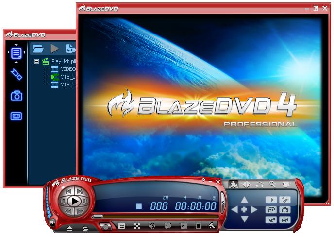BlazeDVD - jednoduchý a snadný DVD a CD přehrávač