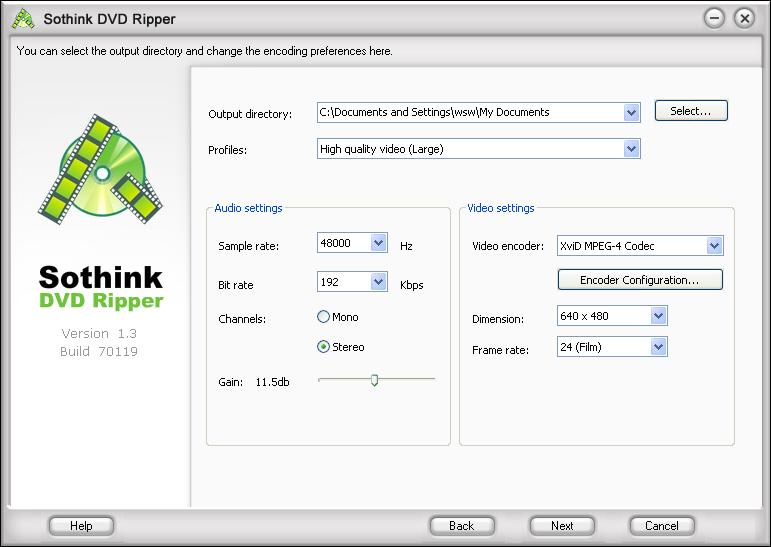 Sothink DVD Ripper - dokonale jednoduchý ripovací nástroj