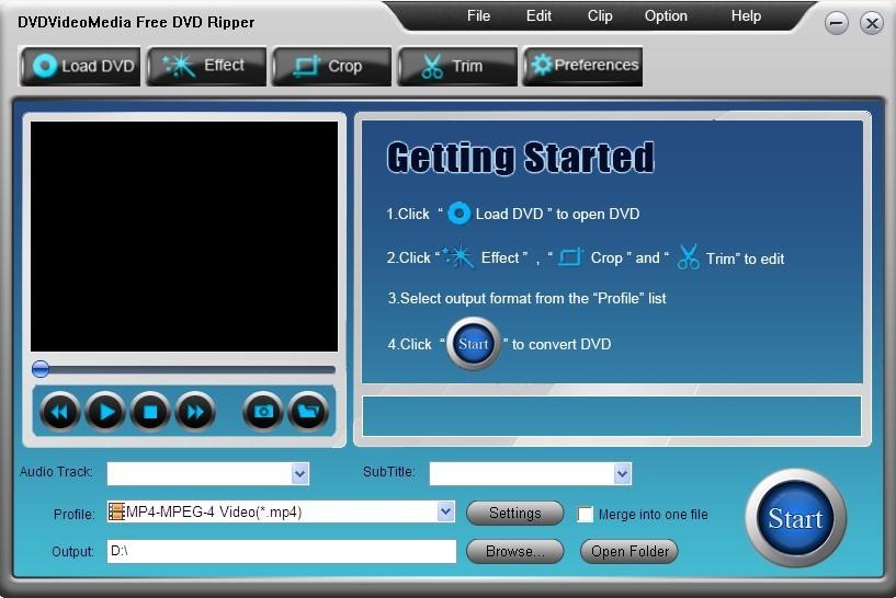 Free DVD Ripper - snadné ripování DVD filmů