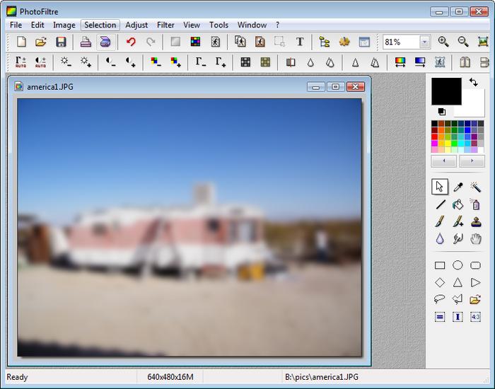 PhotoFiltre - dokonalá a snadná úprava fotografií