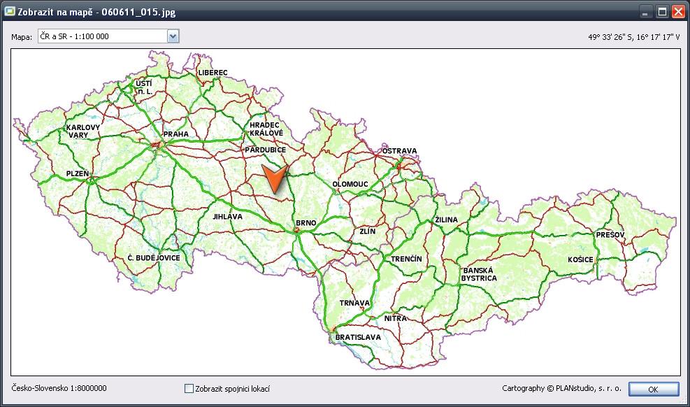 Zoner Photo Map - kde jsem tuto fotografii asi mohl pořídit?