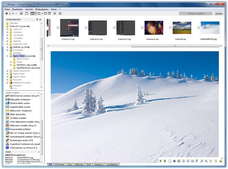 cPicture - aplikace určená pro váš digitální fotoaparát