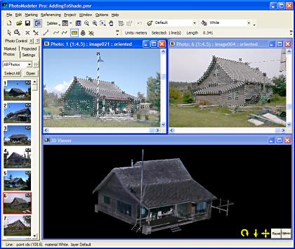 PhotoModeler - profesionální vytváření 3D modelů