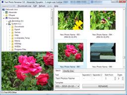 Fast Photo Renamer - rychlé přejmenování vašich fotografií