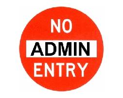 S loginy admin/admin do éteru nelez