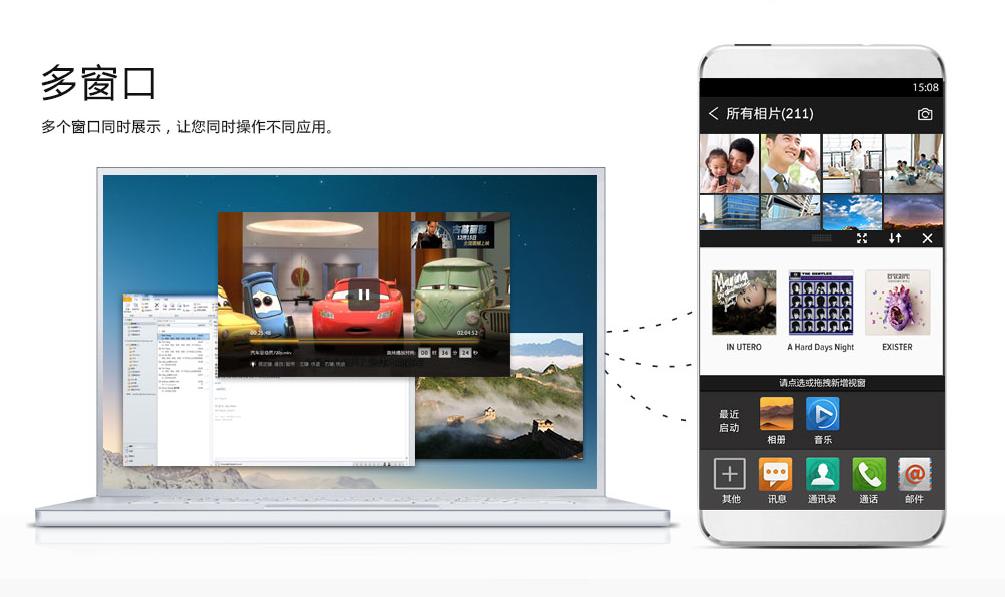 China Operating System: na desktopu i na mobilu
