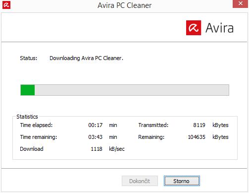 Stažení Avira PC Cleaner