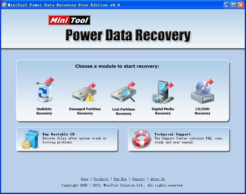 MiniTool Power Data Recovery - užitečný nástroj pro obnovu vašich dat