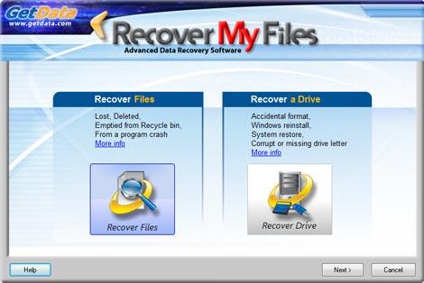 Recover My Files - šikovný nástroj pro obnovu vašich souborů