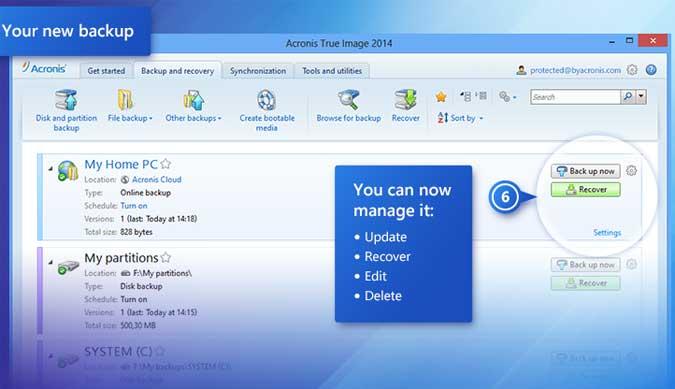 Acronis True Image - pohodlné a bezpečné zálohová ní vašeho PC nebo notebooku