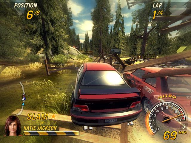 Flatout 2 - bezohledný hazard za volantem plný adrenalinu