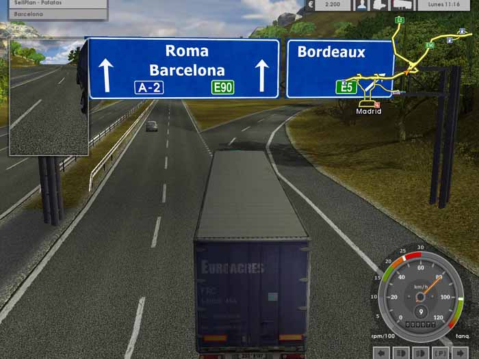 Euro Truck Simulátor - jako řidič kamionu cestujte po celé Evropě