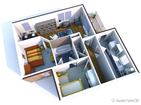 Sweet Home 3D - dokonalá aplikace pro návrh interiéru