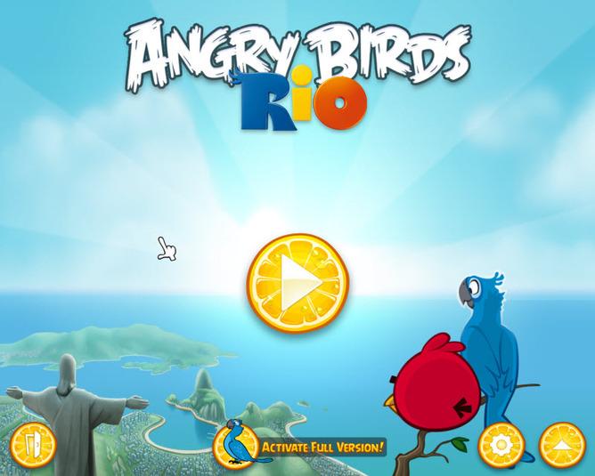 Angry Birds Rio - útěk Angry Birds z Ria