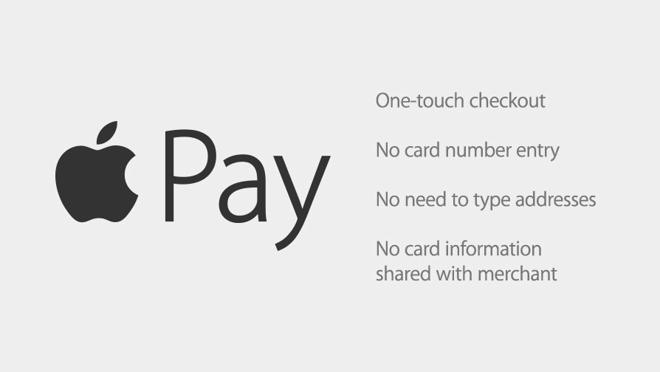 Apple Pay: zaplacení na jeden dotek - žádné vepisování čísla karty - žádné vepisování adres - žádné informace sdílené s prodejcem