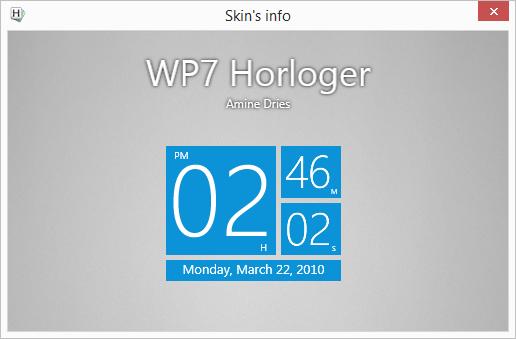 Horloger: ve stylu dlaždic W7