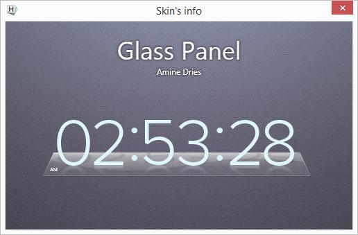 Horloger: Glass Panel