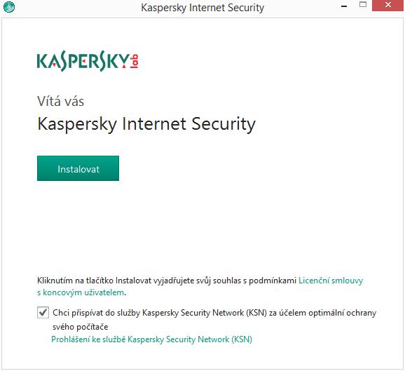 Kaspersky Internet Security Multi-Device: instalace v češtině