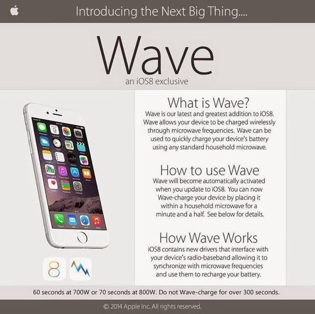Wave: nabijte svůj iPhone v mikrovlnce:)