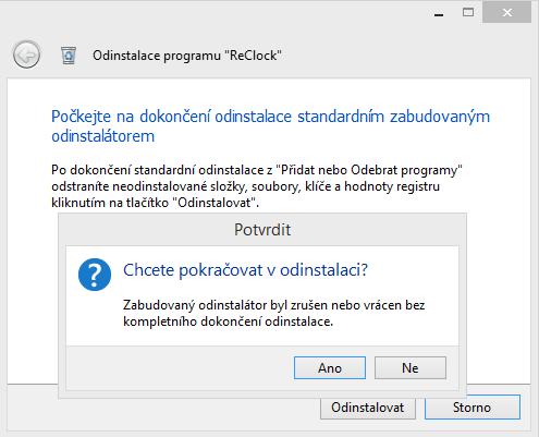 Total Uninstall nezklame, ani když programový instalátor nefunguje