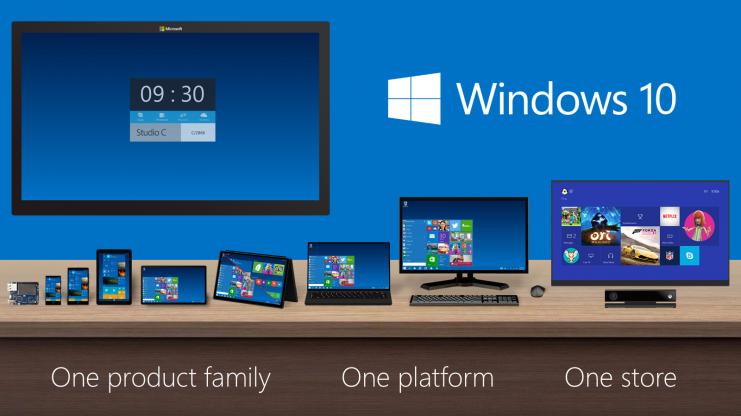 Windows 10 spousta rozruchu, inovace kopírovaním jiných