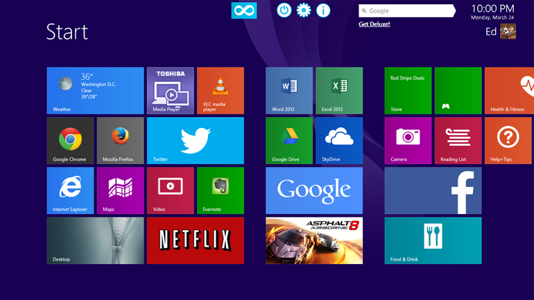 Start Screen Unlimited - vybavujeme Windows 8 digitálními gadgets