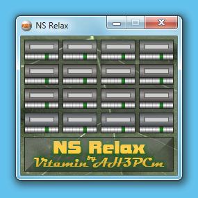 NS Relax Demo - aplikace pro vytváření prostorových zvuků