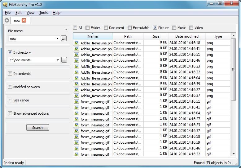 FileSearchy Pro - hledáte data ve svém počítači?