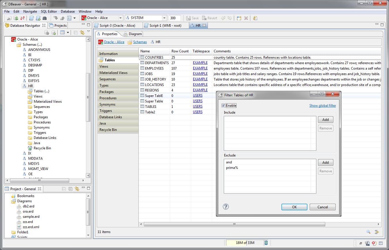 DBeaver - snadný nástroj pro správu databází